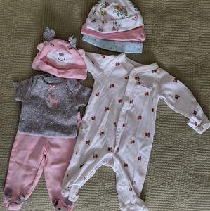 Various NB, 0-3 Girls Clothing